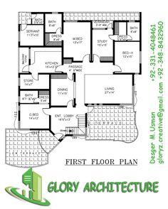 1 kanal modern rawalpindi house plan 2 kanal modern for House plan with basement parking