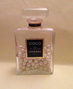 DIY Chanel Bottle Room Decor
