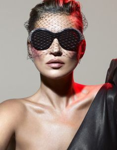ALEXANDRE VAUTHIER X ALAIN MIKLI SUNGLASSES COLLECTION FEATURING KATE MOSS