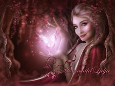 Secret Wood by moonchild-ljilja on DeviantArt Angel Warrior, Butterfly Effect, Moon Child, Fantasy Creatures, Beautiful Artwork, Photo Manipulation, Fantasy Art, Fairy Tales, Aurora Sleeping Beauty