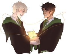 Albus and Scorpius || Cursed Child || by: Istehlurvz