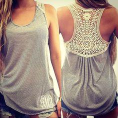 Stylish lace striped tank top . . . #gonchas #fashion #women #style #summer #top #tanktop #lace #art #vsco #vscocam #like4follow #followforfollow #tagafriend #giftsforher #giftideas #love