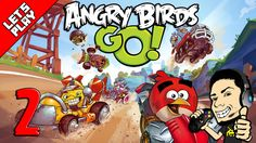 Let's Play Angry Birds Go! #2 Seedway Gameplay Walkthrough For iOS & And...