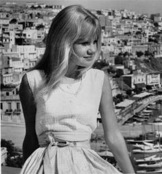Hayley Mills (in Moon-Spinners)... love her, love her dress, love this old movie