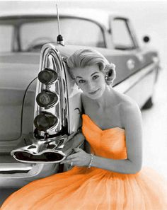 """( 2016 ) - HOT ROD """"1957 DeSoto"""" and THE BEAUTIFUL PIN-UP GIRL...Black & White with Hues 2016. -"""
