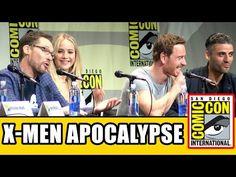 ▶ X-Men: Apocalypse Comic Con Panel - Hugh Jackman, Jennifer Lawrence, Michael Fassbender & Cast! - YouTube