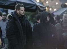 """Josh Dallas and Ginnifer Goodwin - Behind the scenes - 5 * 11 """"Swan Song"""" - 27 October 2015"""