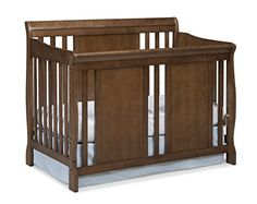 Stork Craft Verona Convertible Crib, Dove Brown