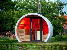 eclipse buiten sauna