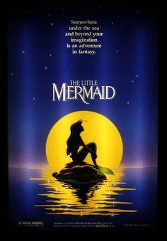 The Little Mermaid -The reason why I always kept my hair long.