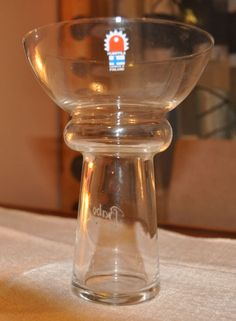 Puketti vase by Kaija Aarikka for Humppilan Lasi.