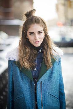 Street Style Hair & Makeup | New York Fashion Week Fall 2015 | POPSUGAR Beauty