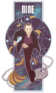 The Ninth Doctor... I miss nine... I just wish he would have had more than one season. He was fantastic!