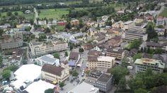 Aussicht beim Aufstieg zum Schloss des Fürsten von #Liechtenstein #Vaduz