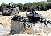 M-113 do Exército Brasileiro.