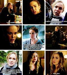 "Sara Lance in #LegendsofTomorrow #1x09 ""Left Behind"""