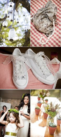 another pair of wedding chucks, so chucks or barefeet OH or dancing shoes(maybe wedding present idea for me) for the second reception but for the wedding and first reception i beleive i should be in nice shoes, they just have to be comfertable