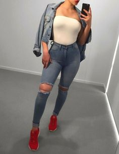 womens summer fashion which look amazing! Mode Outfits, Trendy Outfits, Fall Outfits, Summer Outfits, Fashion Outfits, Fashion Trends, Fashion 2018, Womens Fashion, Bad And Boujee Outfits