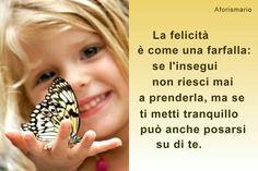 La farfalla.....è la felicità