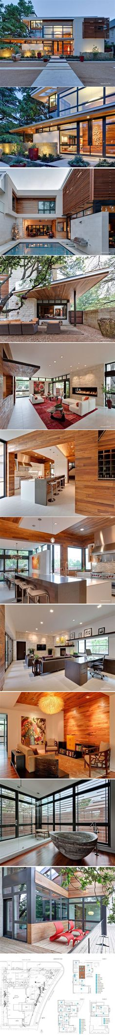 interior design for modern house.  Modern Montana Mountain Home House Architecture and