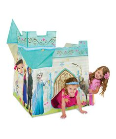Look at this #zulilyfind! Frozen Royal Castle by Playhut #zulilyfinds