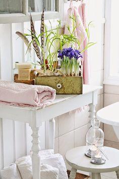 VIBEKE DESIGN: Vårfølelse på badet