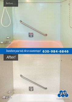 Do It The Easy Way And Call Miracle Method Of Chicago NW Metro To Save Time  And Money On Your Bathtub Refinishing And ...