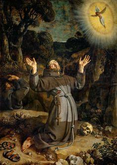 Saint Francis of Assisi receiving the Stigmata, 1620, Louvre Museum, Frans Pourbus the Younger (Antwerp 1569-1622 Paris),