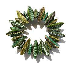 Geometric Beadwork Series by Jean Power Jean is a Jeanious - love her work.