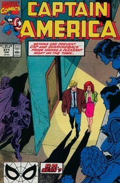 Captain America # 371 by Ron Lim & Danny Bulanadi