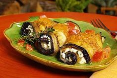 Eggplant Rolls with Fresh Ricotta and Thyme - Barilla Barilla Recipes, Yummy Pasta Recipes, Dinner Recipes Easy Quick, Cooking Recipes, Healthy Recipes, Healthy Food, Turkish Recipes, Greek Recipes, Italian Recipes