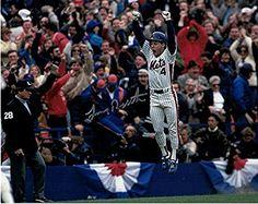 Lenny Dykstra Autographed New York Mets 8x10 Photo (1986 WS Celebration)