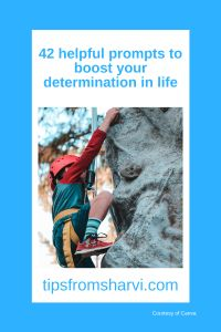 42 helpful prompts to boost your determination in life #determination #successgoals
