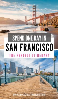 Only have 24 hours in San Francisco? Here is your one day San Francisco travel itinerary. What to do in San Francisco, what to see in San Francisco #traveltips #sanfrancisco #california #sanfranciscocalifornia #travelguides