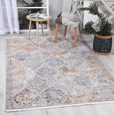 Istanbul Vintage Lantern Multi Rug  Pile Height: 5mm Material: 65% Polypropylene,35% Polyester Rug Type: Indoor Easy to clean Style(s): Modern & Contemporary Pattern(s):Vintage, Modern