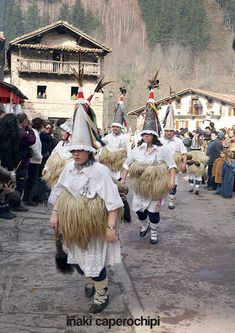 Carnavales ancestrales de Ituren y Zubieta Navarra Spain
