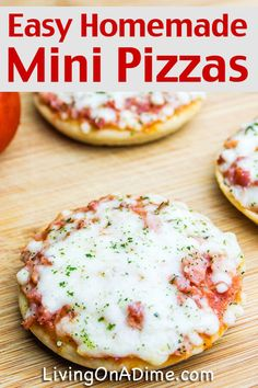 Birthday Food Ideas For Kids Meals Mini Pizzas 27 Ideas For 2019 Cooking With Kids Easy, Healthy Meals For Kids, Dinners For Kids, Healthy Cooking, Kids Meals, Toddler Meals, Cooking Tips, Mini Pizza Recipes, Snack Recipes