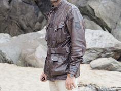 Belstaff Jackets, Bradley Mountain, Cool Outfits, Menswear, Leather Jacket, Mens Fashion, Backpacks, Sport, Graham