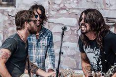 Chris Shiflett , Rami and Dave Grohl 5/9/15 with Chevy Metal