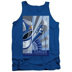 "Checkout our #LicensedGear products FREE SHIPPING + 10% OFF Coupon Code ""Official"" Power Rangers / Blue Ranger Deco-adult Tank - Power Rangers / Blue Ranger Deco-adult Tank - Price: $29.99. Buy now at https://officiallylicensedgear.com/power-rangers-blue-ranger-deco-adult-tank"