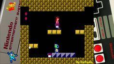 Super Mario Bros 2 (NES) Gameplay Fase 6-2