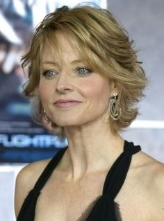 Nice short hair for a mature woman