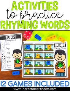 This Bundle Is Your One Stop For Rhyming Activities It Has Everything You Need To