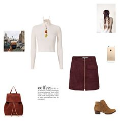 """""""coffee"""" by synclairel ❤ liked on Polyvore featuring A.L.C., Mansur Gavriel, Jessica Simpson, Fall, cute, casual and ootd"""