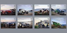 Jersey Old Motor Club 50th anniversary celebrated through stamps