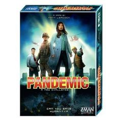 Toys- Pandemic Board Game Mankind Disease Breakout Infection Scientist Operation Z-Man Games - Family Board Games, Fun Board Games, Cooperative Games, Man Games, Typing Games, Win Or Lose, Couple Games, Strategy Games, Adult Games