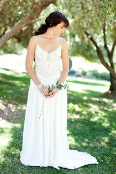 Wedding Gown by SueWong.com,   Photography by chloemurdochphotography.com, Event Planning & Design by joyfulweddingsandevents.com