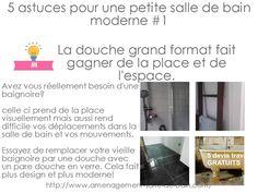 5 astuces pour une petite salle de bain moderne