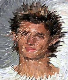 "Saatchi Art Artist Igor Bajenov; Painting, ""... Cogito, ergo sum! - Portraits Collection # 2017."" #art"