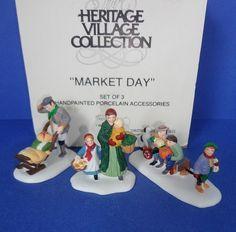 Dept 56 Market Day Retired New England by ShoppingJustForYou